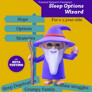 Sleep Options Wizard Graphic